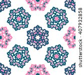 vector abstract seamless... | Shutterstock .eps vector #407932858