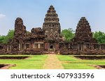 prasat hin phimai historical... | Shutterstock . vector #407933596