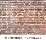 Red Brick Wall Background....