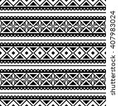 seamless vector pattern. black... | Shutterstock .eps vector #407983024