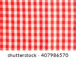 red classic checkered... | Shutterstock . vector #407986570