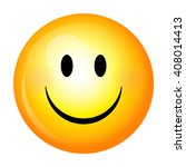smiley. vector happy face | Shutterstock .eps vector #408014413