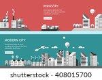 flat design vector illustration ... | Shutterstock .eps vector #408015700