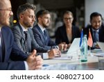 business conference   Shutterstock . vector #408027100