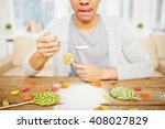 sugar addiction | Shutterstock . vector #408027829