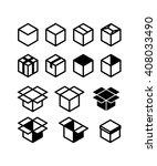 box set | Shutterstock .eps vector #408033490