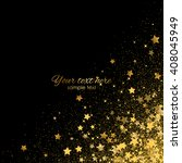 vector background with gold... | Shutterstock .eps vector #408045949