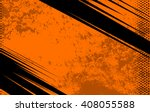 Vector Comic Book and Journal Background. Comic Book and Journal Orange Grunge Background and Texture. Vector Illustration with Halftone Dots for Comic Book and Journal | Shutterstock vector #408055588