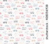 transport seamless pattern....