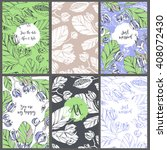 collection vector template...   Shutterstock .eps vector #408072430