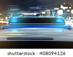 policecar in the city | Shutterstock . vector #408094126