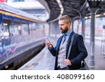 Hipster Businessman With...