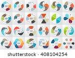 vector circle arrows... | Shutterstock .eps vector #408104254