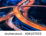 expressway road in the centre...   Shutterstock . vector #408107053
