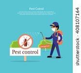 Pest Control Banner Design Fla...
