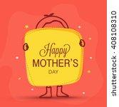 elegant greeting card design...   Shutterstock .eps vector #408108310