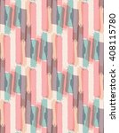 seamless pattern with color... | Shutterstock .eps vector #408115780