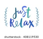"motivation poster ""just relax""... 