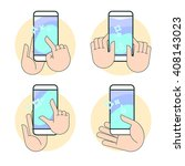 gesture touch swipe ux for...