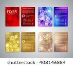 christmas flyer design...   Shutterstock .eps vector #408146884