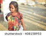 berahile  ethiopia march 29 ... | Shutterstock . vector #408158953