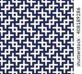 islamic pattern seamless... | Shutterstock .eps vector #408189286
