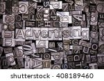 close up of old used metal... | Shutterstock . vector #408189460