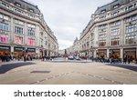 london nov 09 view of oxford... | Shutterstock . vector #408201808