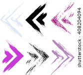 cute vector geometric seamless... | Shutterstock .eps vector #408204094
