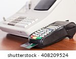 close up of cards servicing... | Shutterstock . vector #408209524