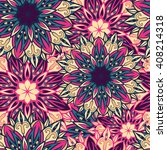 seamless round ornament pattern....   Shutterstock .eps vector #408214318