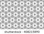 black and white ornament. s  | Shutterstock . vector #408215890