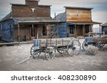ghost town  cody  wyoming ... | Shutterstock . vector #408230890