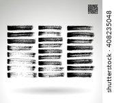 brush stroke and texture.... | Shutterstock .eps vector #408235048