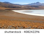 laguna verde  bolivia | Shutterstock . vector #408242296