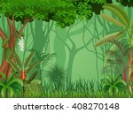 illustration of forest... | Shutterstock .eps vector #408270148