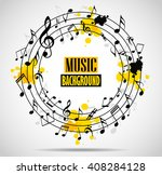 abstract musical background...