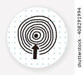 target doodle | Shutterstock .eps vector #408291994