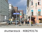 moscow  russia  april  03  2016 ... | Shutterstock . vector #408293176