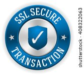 silver ssl secure transaction...   Shutterstock .eps vector #408322063