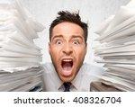 emotional stress. | Shutterstock . vector #408326704