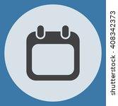 calendar icon | Shutterstock .eps vector #408342373