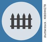 fence icon vector. fence icon...
