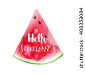 Hello Summer Greeting Card ...