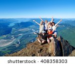 successful group of happy...   Shutterstock . vector #408358303