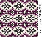retro color tribal navajo... | Shutterstock .eps vector #408377140