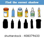find the correct shadow ... | Shutterstock .eps vector #408379633