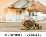 real estate investment property ... | Shutterstock . vector #408381880