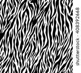 zebra pattern illustration | Shutterstock .eps vector #408392668