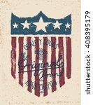 Vintage American Labels. Tee...